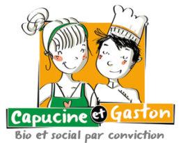 Capucine et Gaston Logo