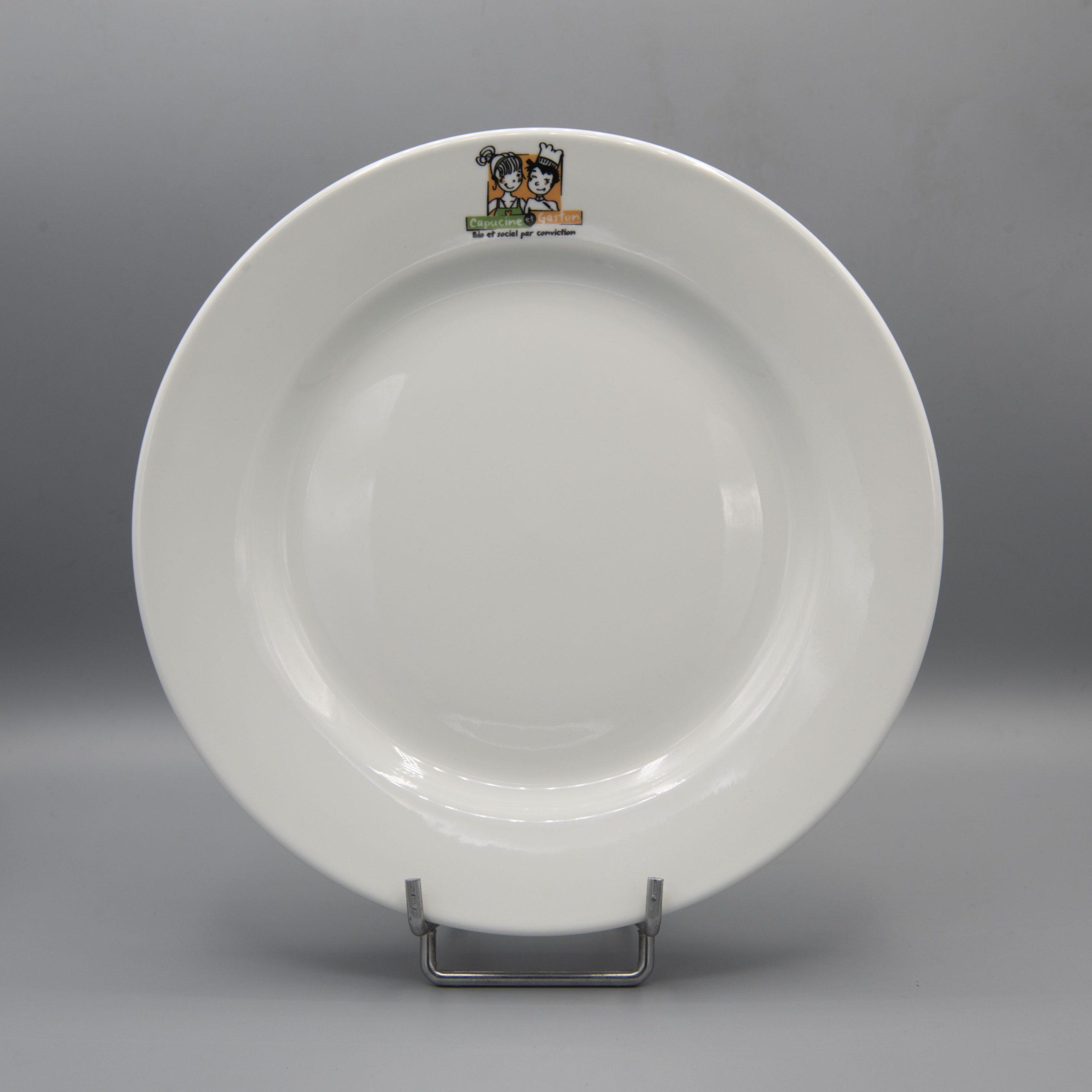 assiette à plat complet